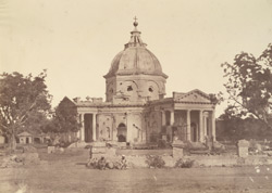 [St.James's] Church, Delhi [showing damage caused by the Mutiny fighting].
